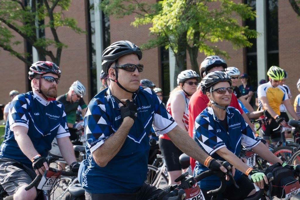 Rochester Colonial Ready for Tour de Cure
