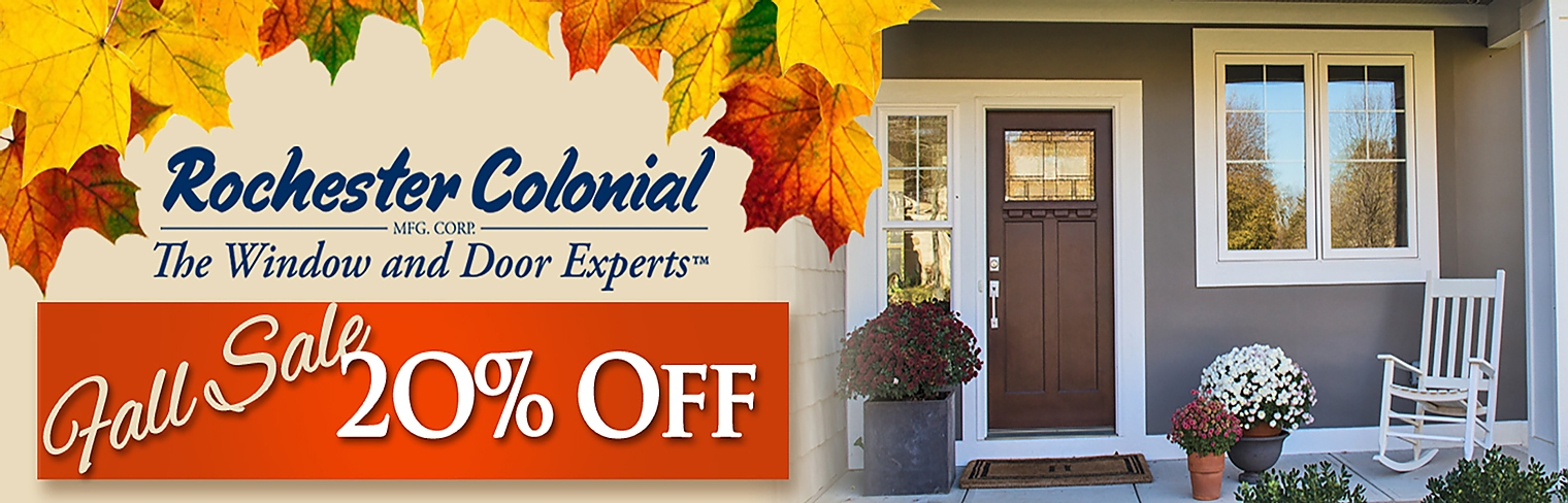 Rochester Colonial Fall Sale