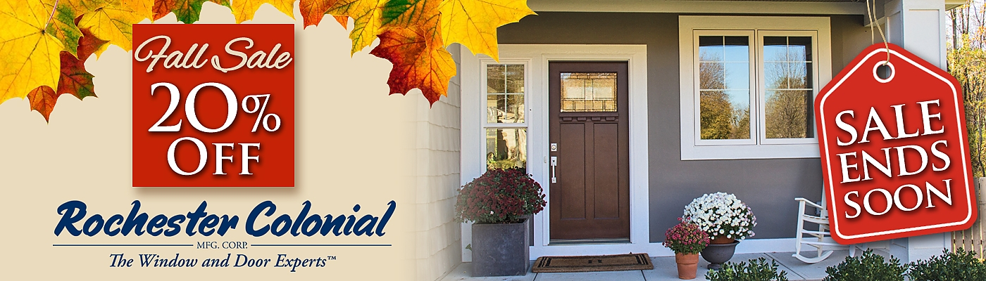Rochester Colonial Fall Sale - ending soon