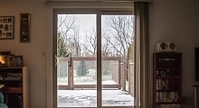 Interior Patio Door