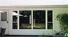 Picture Window with Double Hung