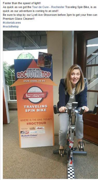 Rochester Colonial Tour De Cure Team 4
