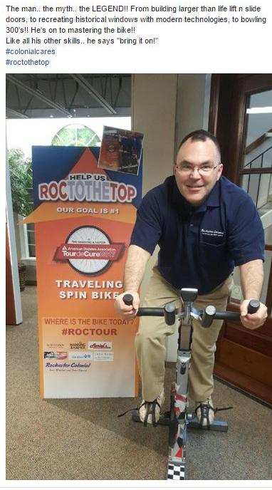 Rochester Colonial Tour De Cure Team 5