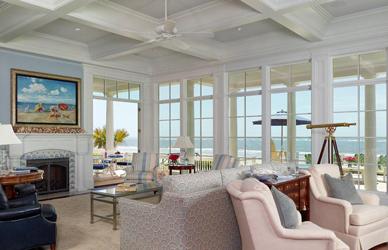 Beach House Windows White