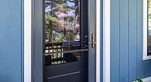 3/4 Glass Entry and Storm Door